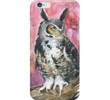 Eagle-owl iPhone Case/Skin