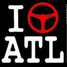I Drive ATL - White Text by uncannydrive