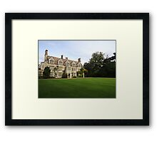 Anglesey Abbey Framed Print