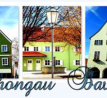 Schongau Bavaria Collage by ©The Creative  Minds