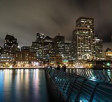 SF Skyline by Raj Golawar