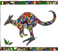 Kangaroo by Deb Coats