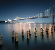 The Bay Bridge Natural by Raj Golawar