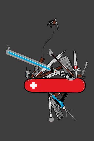 Geek Army Knife by Ian  Summers