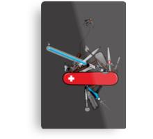 Geek Army Knife Metal Print