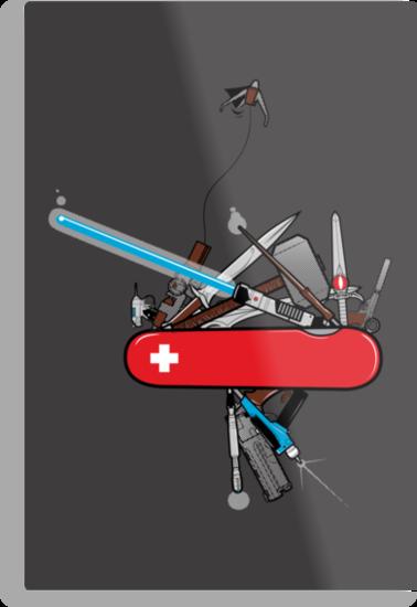 Geek Army Knife by Ian  Summers