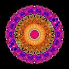Positive Energy - Kaleidoscope Mandala By Sharon Cummings by Sharon Cummings