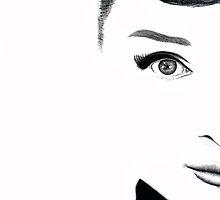 Audrey Hepburn by Amberly Stimson