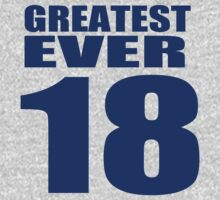 Peyton Manning - 18 - Greatest Ever (text top) by tmiller9909