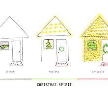 The Christmas spirit spectrum by Sally Kate Yeoman