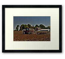 Chisel Plowin' Framed Print