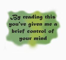 By Reading...Control...Mind GREEN by gbenaim