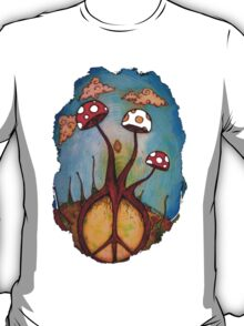 Peace & Shrooms T-Shirt