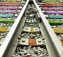 Rainbow Train Track  by KittyBitty1