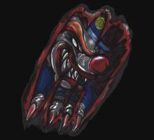 Tearing Clown (Black) by 319media