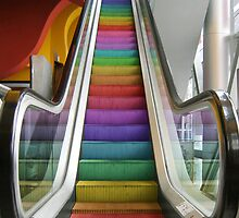 Rainbow Escalator by KittyBitty1