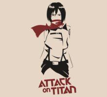 Mikasa Ackerman by aguirreink