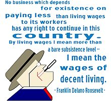 FDR on Wages by AuntieShoe