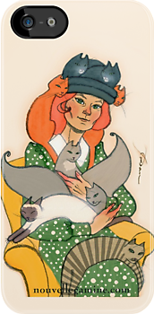 Crazy Cat Lady  by nouvellegamine
