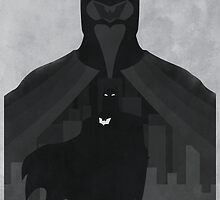 JLA: Batman Minimalist Comics Justice League of America by markitzero