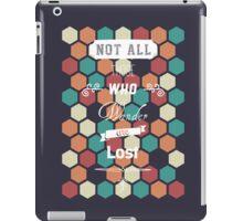 Wander ≠ Lost iPad Case/Skin