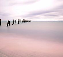 Old Jetty in Bridport by Imi Koetz