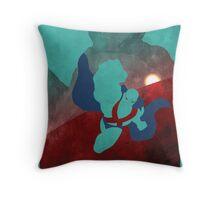 JLA: Martian Manhunter Minimalist Comics Justice League of America Throw Pillow