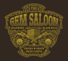The Gem Saloon  by heavyhand