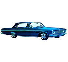 1963 Plymouth Sport Fury by boogeyman