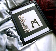 Mannaz the Norse Rune abstract art by VibrantDesigns