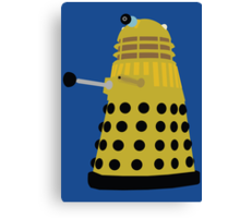 Enemies of the Doctor #3 - The Daleks Canvas Print