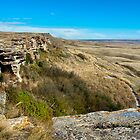 Head Smashed In Buffalo Jump by Robin Webster