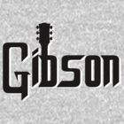 Gibson Guitars New Black decoration Clothing & Stickers  by goodmusic