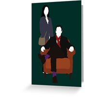 Holmes and Watson - Elementary Greeting Card