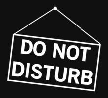 Do not disturb by keepers