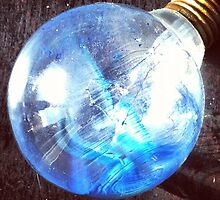 Broken Light Bulb by omhafez