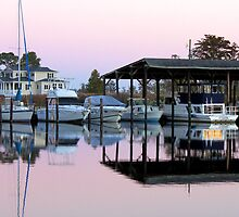 The Marina At Dusk by WeeZie