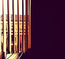 Behind the Blinds by omhafez
