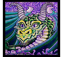 dragon close up (square) Photographic Print