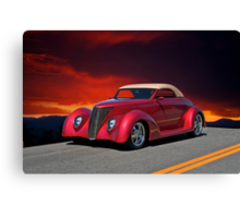 1937 Ford Cabriolet I Canvas Print