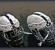 Hockey Helmets by GalleryThree