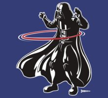 Darth Vader loves to Hula Hoop by RichWilkie