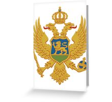 Montenegro | Europe Stickers | SteezeFactory.com Greeting Card