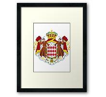 Monaco | Europe Stickers | SteezeFactory.com Framed Print