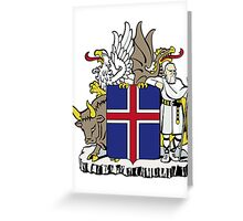 Iceland | Europe Stickers | SteezeFactory.com Greeting Card