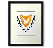 Cyprus   Europe Stickers   SteezeFactory.com Framed Print