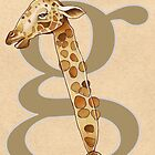 G is for GIRAFFE by busymockingbird
