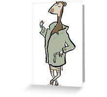 Mr. Okapi Greeting Card
