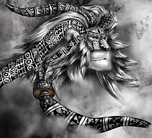 Tribal Lion Spirit by creativenergy