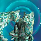Fractallicats by Desirée Glanville